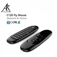 air video games - Gyroscope Fly Air Mouse C120 Wireless Game Keyboard Remote Controller Rechargeable Ghz for Smart Tv box Mini PC computer