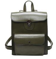 Hommes bruns sacs à dos France-Vente en gros des hommes de mode de vente verrouillage des femmes Bright sac à dos sac noir vert gris Brown Messenger Bag Retour à l'école de sac à dos mignon 1624