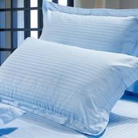 Wholesale Multiple Colors Silk Pillow Cases Double Face Envelope Silk Pillowcase High Quality Charmeuse Silk Satin Pillow Cover