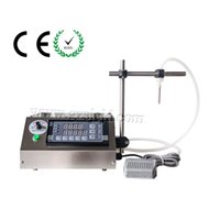 automatic water filling - New Digital Control liquid filling machine ml for mineral water juice beverage milk