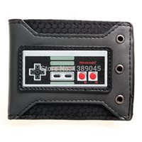 animate cards - Nintendo nes handles Nintendo young students personality animated cartoon wallet card PU wallet DFT1332