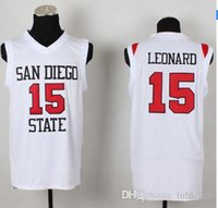 aztecs jerseys - Factory Outlet San Diego State Kawhi Leonard College Jersey University Aztecs Basketball Jerseys Stitched Customized Any Name And Number