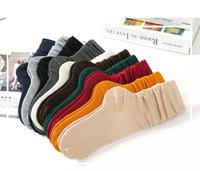 Wholesale Thin spring cotton stockings Pure color restoring ancient ways wear short boots leg warmers stockings