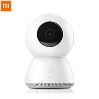 Wholesale Original Xiaomi Wireless Smart IP Camera Home Security System Home Panoramic WiFi Motion Detection Night Vision MiJia P CCTV