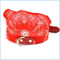 bandages for cats - Estrella Dog Scarf Neckerchief Pet Saliva Towels PU Printed Triangular Bandage for dog cat MOQ