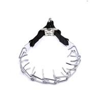Wholesale Dog Pinch Collar with Quick Clips Ultra Dog Prong Pinch Training Barking Choking Collar Adjustable Choke Collar Leash