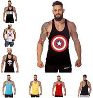 Wholesale New Arrival Gym Shark Stringer Tank Top Men Gymshark Bodybuilding and Fitness Men s Singlets GYM Tank Shirts Sports Tank Top b562