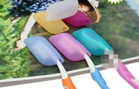 Wholesale Portable small environmental health toothbrush Cover Holder Travel silicone Case Dust the silicone brush head MIX COLORS freeshipping H1299