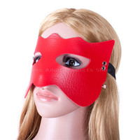 activity games adults - 2016 Sexy Eye Mask Patch Blindfold Adult Games Flirt leather activity mask soft Sex Toy Sleep Sex Products For Couples
