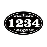 address stickers personalized - Car Styling For Personalized House Address Sign Vinyl Decal Sticker Plaque Aluminum Won t Fade Peel Or Chip Jdm Accessories