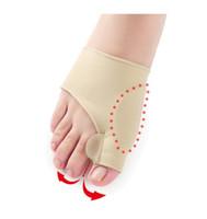 Compra Calcetines de pie grande-Venta al por mayor 40Pair = 80pcs el más reciente de silicona Hallux Valgus Braces Big Blackmailed corrección ortopédica calcetines dedos del pie Separador Pies Cuidado