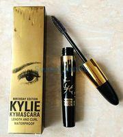 Wholesale 2016 Newest KYLIE MASCARA Birthday edition KYMASCARA Charming eyes Magic Thick Slim Waterproof mascara Black color