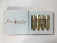 Wholesale 2016 Brand new Kylie KOKO KOLLECTION birthday limited edition lipstick lipgloss colors Gorg Damn Gina OKurr Khlo by dhl