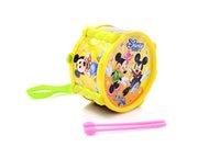 baby drummer - Children s double drummers drumming cartoon toys percussion On the drum Knock the tambourine Baby early education toys