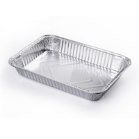 Wholesale Aluminum Foil Steam Table Pans Homemade Cakes Breads Meatloaf and quiche Baking Tool Disposable Capacity ML Pack