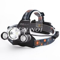 Wholesale Factory Price Lumen T6 R5 Boruit Head Light Headlamp Outdoor Light Head Lamp HeadLight Rechargeable by x18650 Battery Fishing Camping