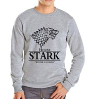 animals top songs - Game of Thrones sweatshirts men s house Stark men s hoodies and men top tracksuit an ice song and fire print winter is coming