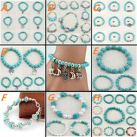 Wholesale Newest Jewelry Bracelet Ethnic Style Jewelry Handmade Natural Turquoise Bracelet Very Beautiful Gift High Quality