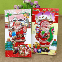 Wholesale Folding size cm Selling creative Christmas card senior three dimensional holiday blessing cards a variety of mixed models