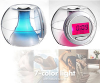 acoustic manufacturers - Manufacturers selling colorful lazy LDC alarm calendar digital clock decoration