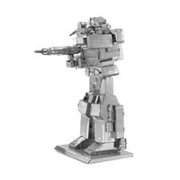 Wholesale 4pcs Small Size D Metal Assemble Model Boys Educational Toys Aldut Creative DIY Robot Puzzles