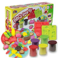 barbecue gift set - Color Clay Dough set Funny Children Toys barbecue Free Tools and Accessories For Kid the best gift for children Middle