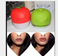 Wholesale Lip Plumper green Double or Red Single Lobbed Full Lip Pump Beauty Plumper Tool Full Lip Enhancer Lips Plump KKA1249