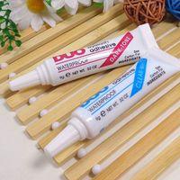Wholesale FedEx Express Factory DUO Waterproof Fake Eyelashes Adhesive Makeup Eye Lash Glue Clear White Black wholsale