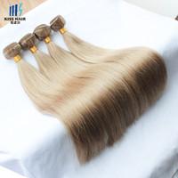 Ash Blonde ash hair colors - Mink Brazilian Hair g Color medium ash blonde light brownish blonde light ash brown brazilian straight body wave remy human hair weave