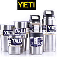 Wholesale 64 OZ oz Color Yeti Rambler Tumbler Stainless Steel Vacuum Insulated Cup Double Walled Travel Mug Car Cup OTH242