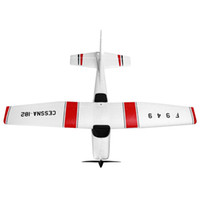 Wholesale Cessna Rc Rtf - Wholesale-WLtoys F949 Mini RC Airplanes Cessna 182 Mode2 2.4G 4CH RC Aircraft Fixed-wing RTF Airplane Easy to Carry
