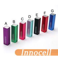 100% Origianl Innocell batterie 2000mah Box Mod Vaping Système d'alimentation Innokin cell Control Body Micro USB Charge DHL gratuitement