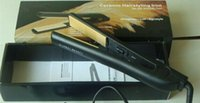 alumina coating - 2016 Classical BLACK Hairstyling Flat Iron with Retail Box hair straightener DHL high quality