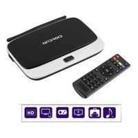 Wholesale WiFi TV Set Top Box XBMC DLNA OTG P Quad Core ARM Rockchip RK3188 CS918 Q7 G G Android TV Box