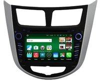 auto accents - Android octa core HD car dvd player for HYUNDAI Verna Accent Solaris gps radio auto g tape recorder head units