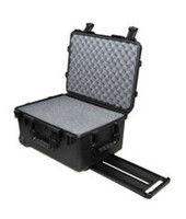 Wholesale waterproof safety equipment casetrolley Tool case toolboxcamera box Plastic sealed case tool box with pre cut foam black yellow