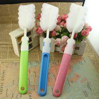 Wholesale Removable long sponge health brush cup brush cup brush brush cleaning brush durable durable cup brush