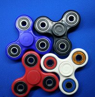 Wholesale 2017 Hot Toy EDC Hand Spinner Fidget Toy Good Choice For decompression anxiety Finger Toys For Killing Time With White Retail Box Package