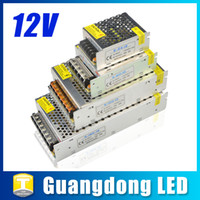 Wholesale DC V Lighting Transformer LED Driver Power Adapter Supply For Led Strips Led Modules W W W W W W W W AC V V