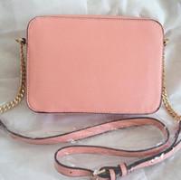 Wholesale famous brand bags women fashion small khaki clutch bags corss body gold chain purses
