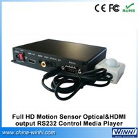 activate hdmi - PIR motion activated optical RS232 Control made in china smart p usb hdmi full hd media player box