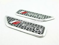 acura cars logo - badge logo sets New Car Styling M STI RS ST RLINE TRD D Aluminium M Logo Side Wing