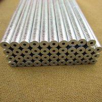 1000pcs 5x1.5mm Strong Ring aimants Dia 5mmx1.5mm N50 aimant néodyme Rare Earth 5 * 1.5mm avec HOLE