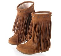 Cheap Fringe Low Boots | Free Shipping Fringe Low Boots under $100 ...