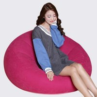 bean bag lounger chair - New Arrival Inflatable Sofa Living Room Furniture Lazy Bean Bag Chair Leisure Beanbag Corner Sofas Cozy Lounger Chair JF0059