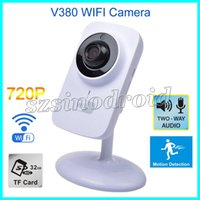 baby monitor hd app - V380 Phone APP HD P Mini IP Camera Wifi Camera Wireless P2P Security Cameras Day Night Monitor Baby Monitor Support Micro SD Card