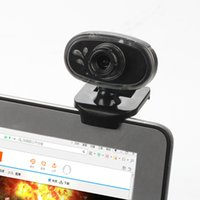 Wholesale Newest Webcam USB2 Webcam HD Megapixels Camera Rotating Stand for Computer PC Laptop