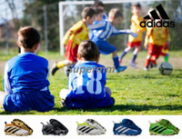 beige boots kids - Children Adidas Ace Purecontrol Soccer Cleats FG Kids Soccer Shoes Trainers Youth Ace Boy Girl Football Boots For Woman With Box