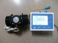 Wholesale NEW quot Flow Water Sensor Meter Digital LCD Display control L min