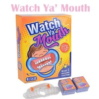 best children games - Watch Ya Mouth Interesting Party Game Family Edition Hilarious Best Selling Board Game Suitable For Adult And Children Christmas gift